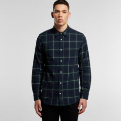 Mens Plaid Shirt Thumbnail