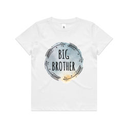 Big Brother Watercolour Arrows - Kids Youth T shirt Thumbnail